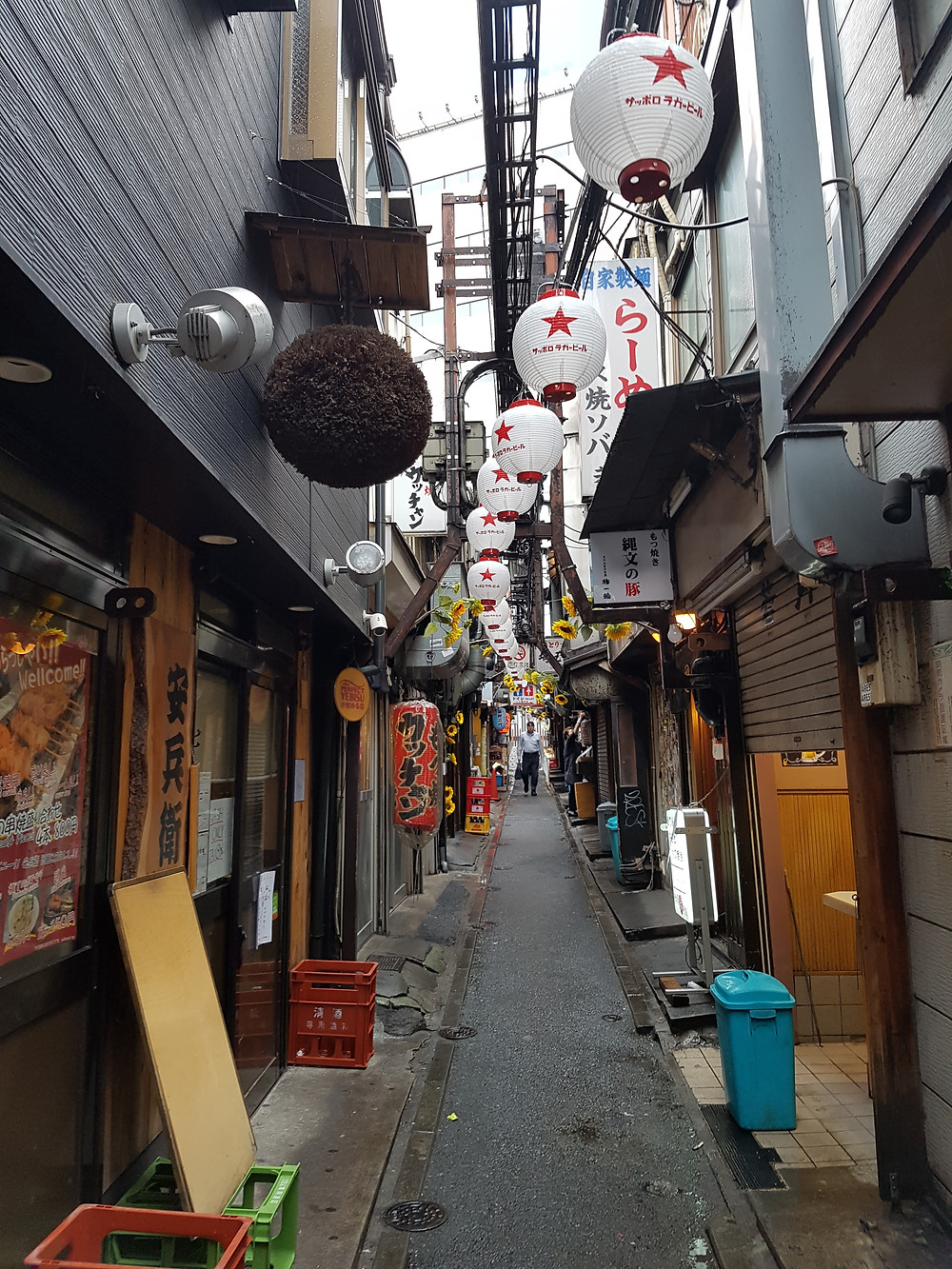 Omoide Alley in Shinjuku/Tokyo