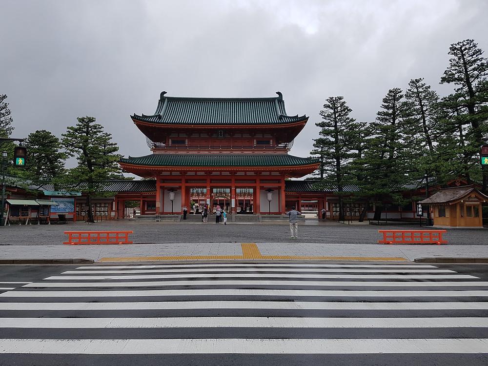 Heian Jingu Schrein in Kyoto