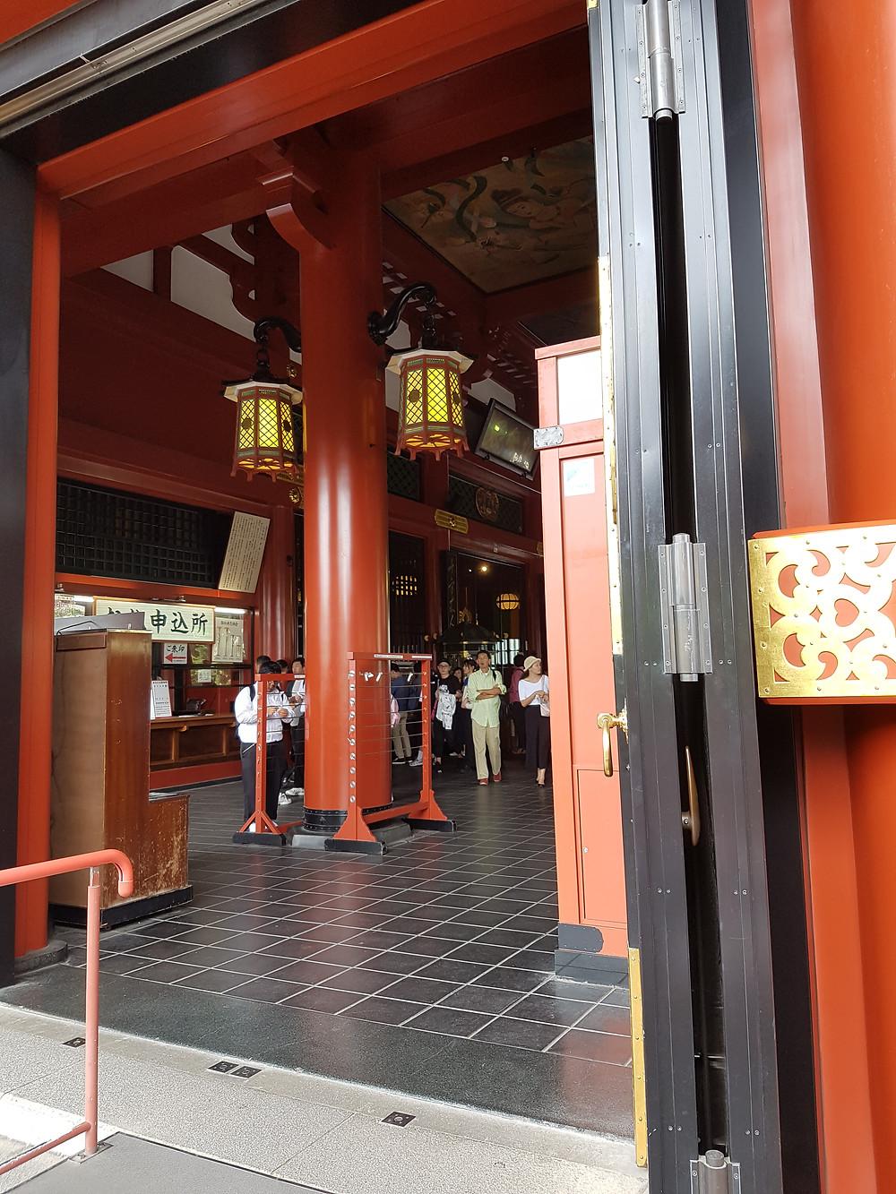 Hauptgebäude des Sensō-ji Tempel