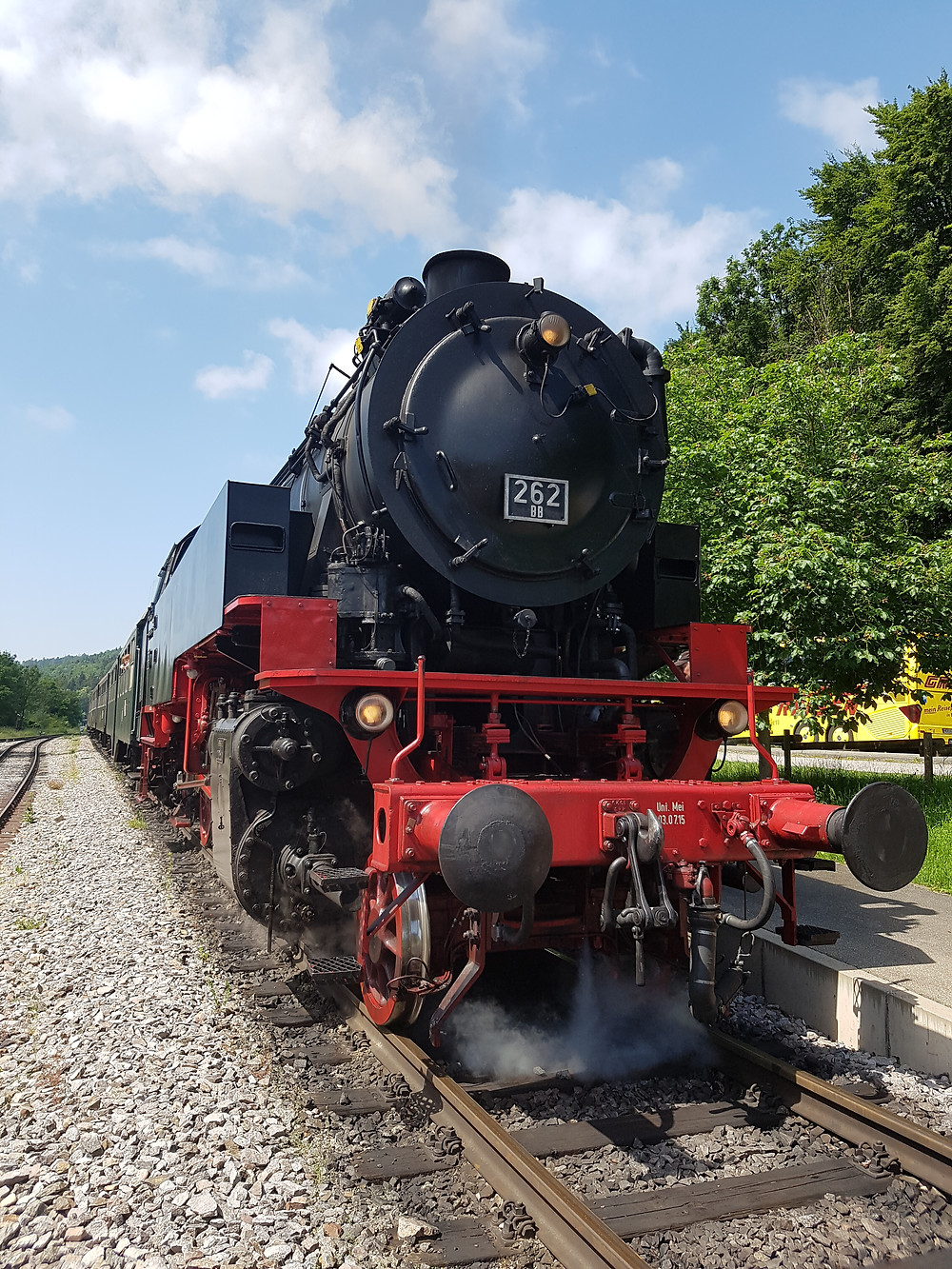 Lokomotive der Sauschwänzlebahn