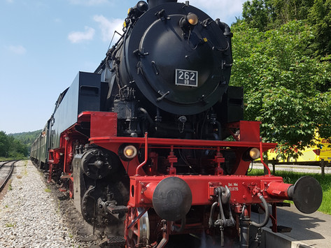 Mit der Sauschwänzlebahn in den Schwarzwald   Wanderung in der Wutachschlucht