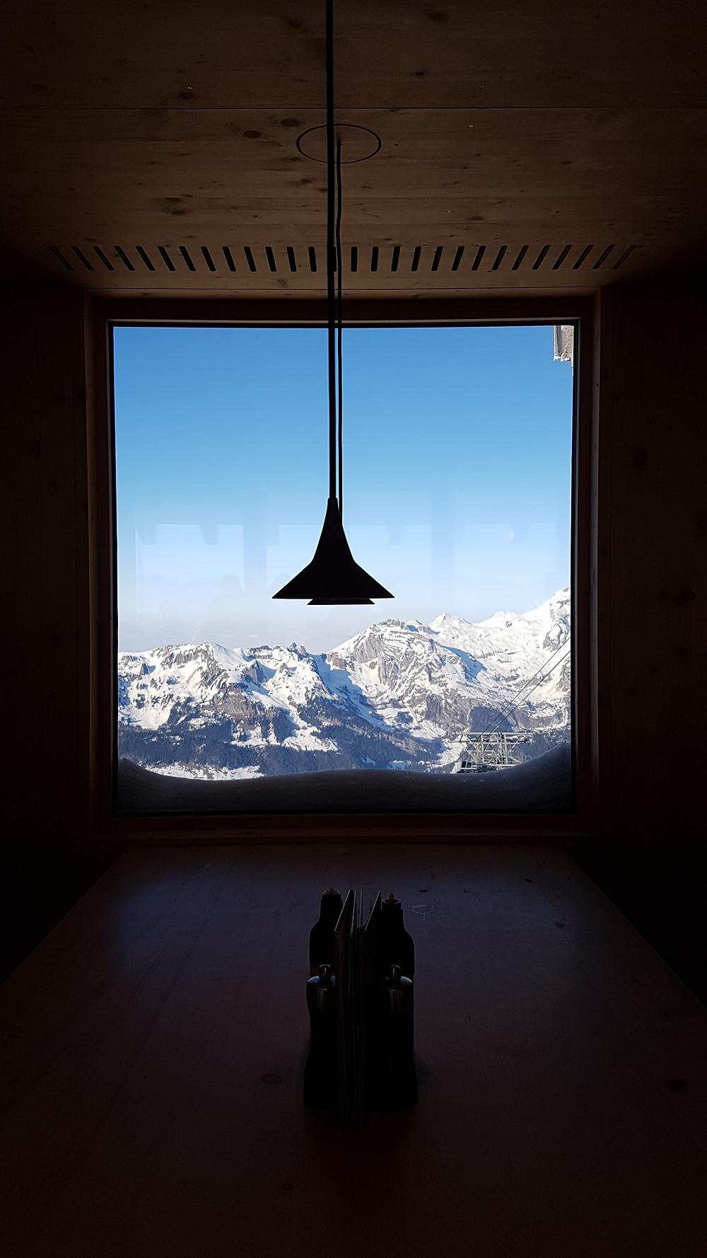 Sicht aus dem Restaurant
