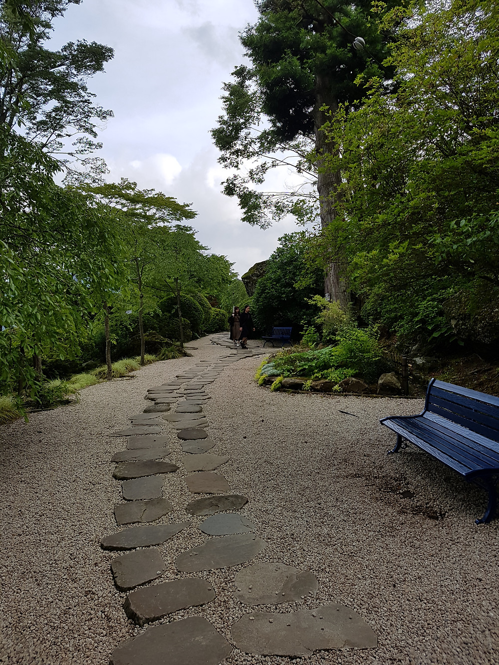 Weg im Hakone Gora Park