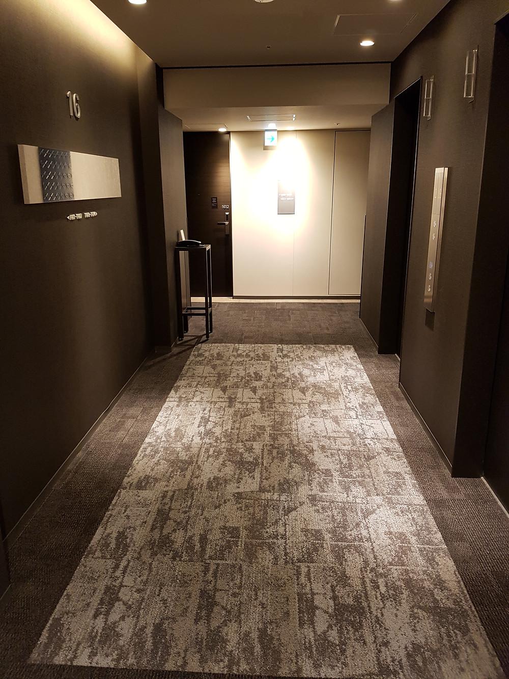Gang im Hotel Intergate Tokyo Kyobashi