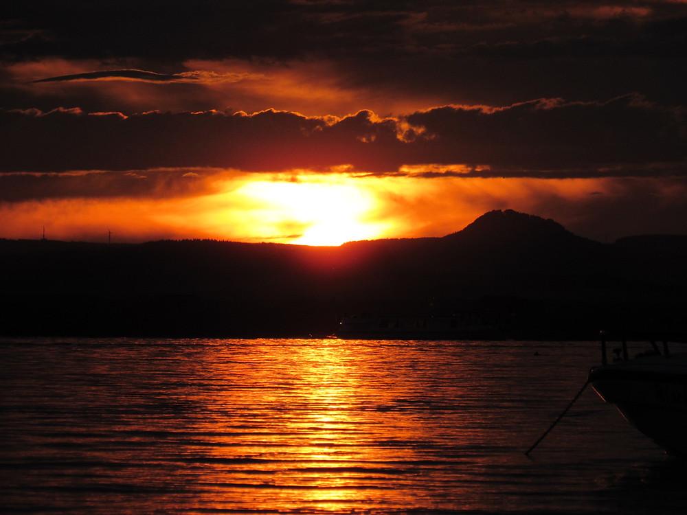 Sonnenuntergang Endzeit