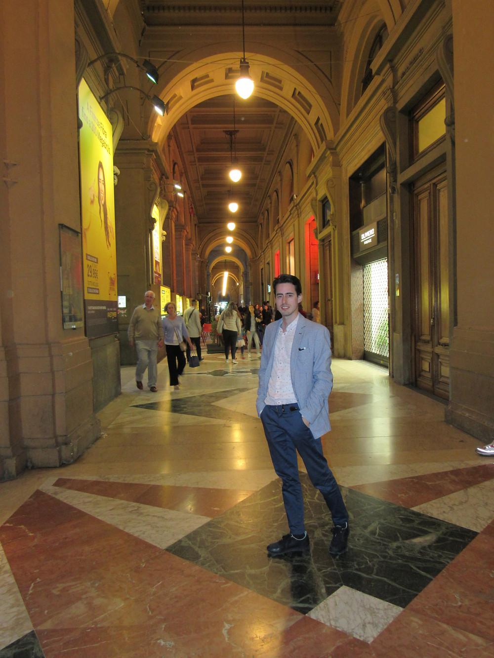 Arkaden auf der Piazza della Republica