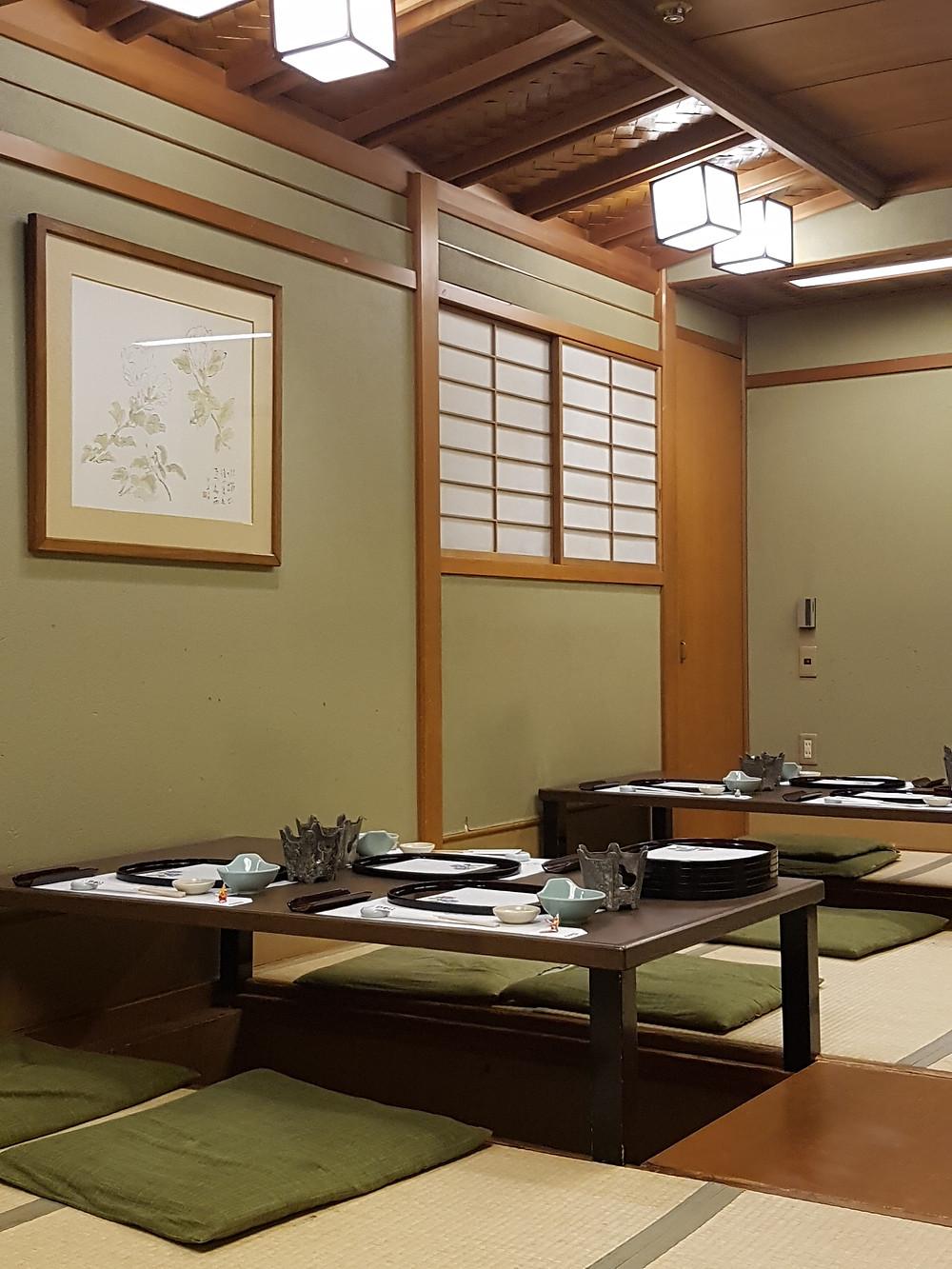 Eines der Räume im Restaurant