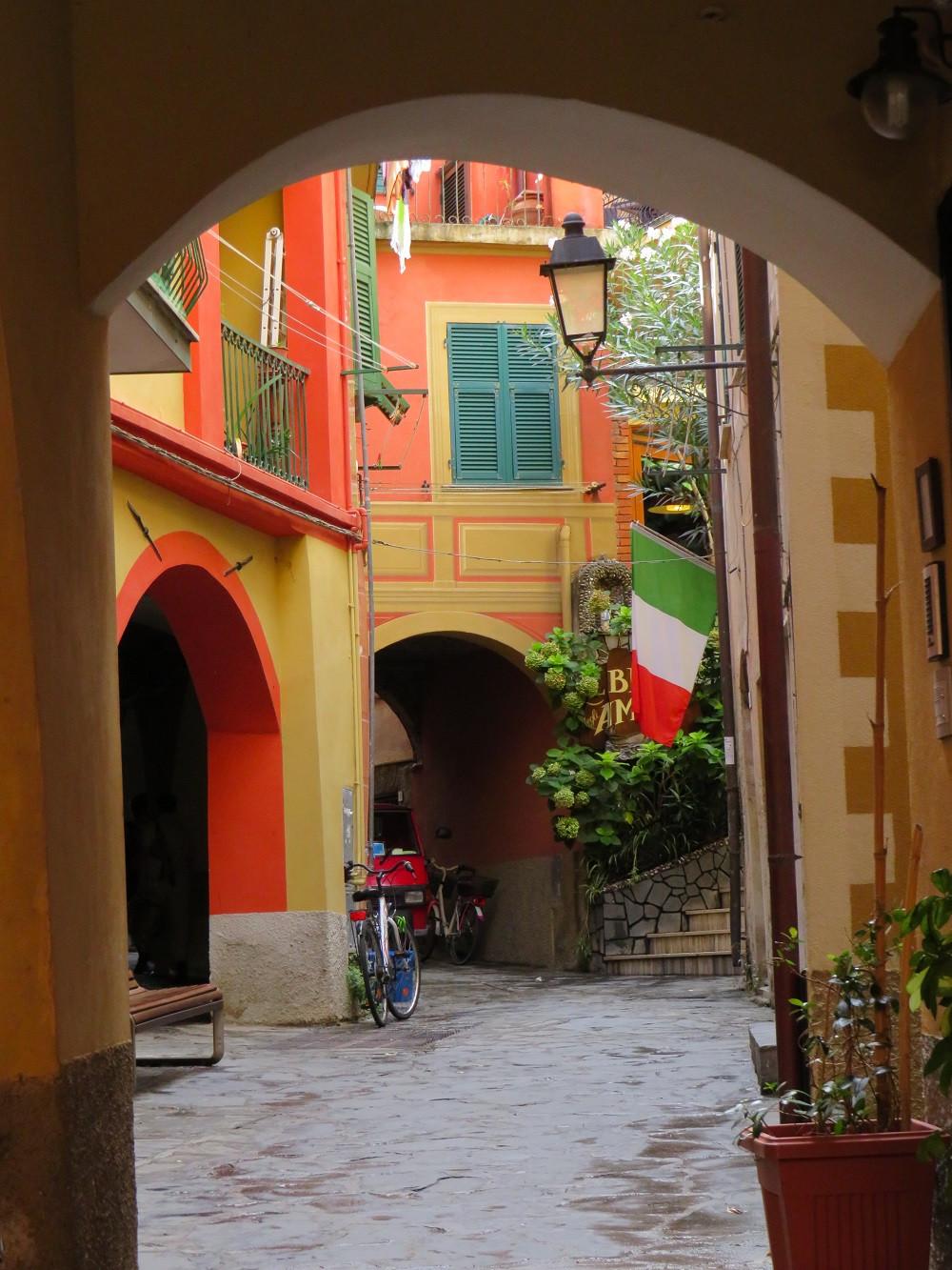 Kleiner Innenhof in der Altstadt