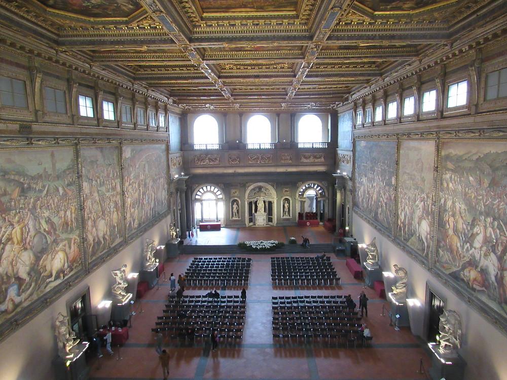 Saal der 500 im Palazzo Vecchio