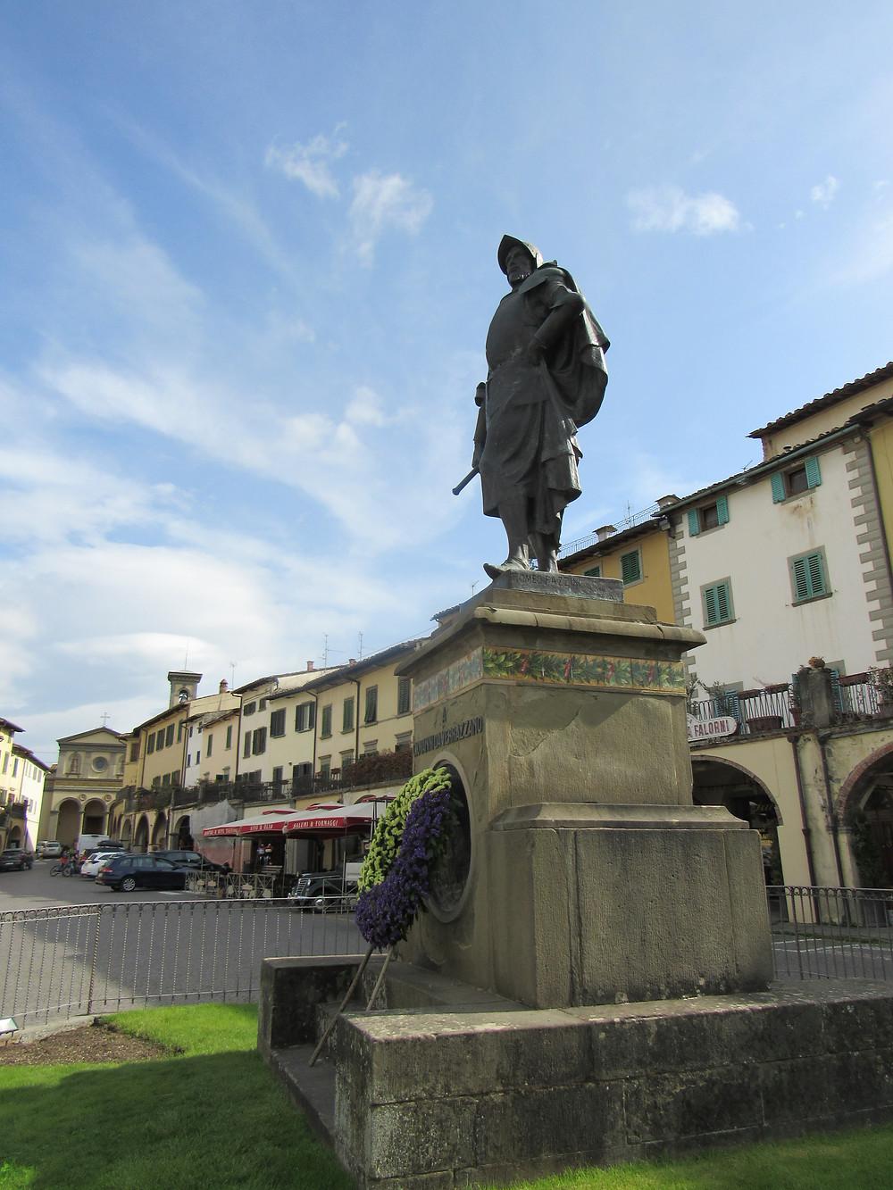 Statue von Giovanni da Verrazano