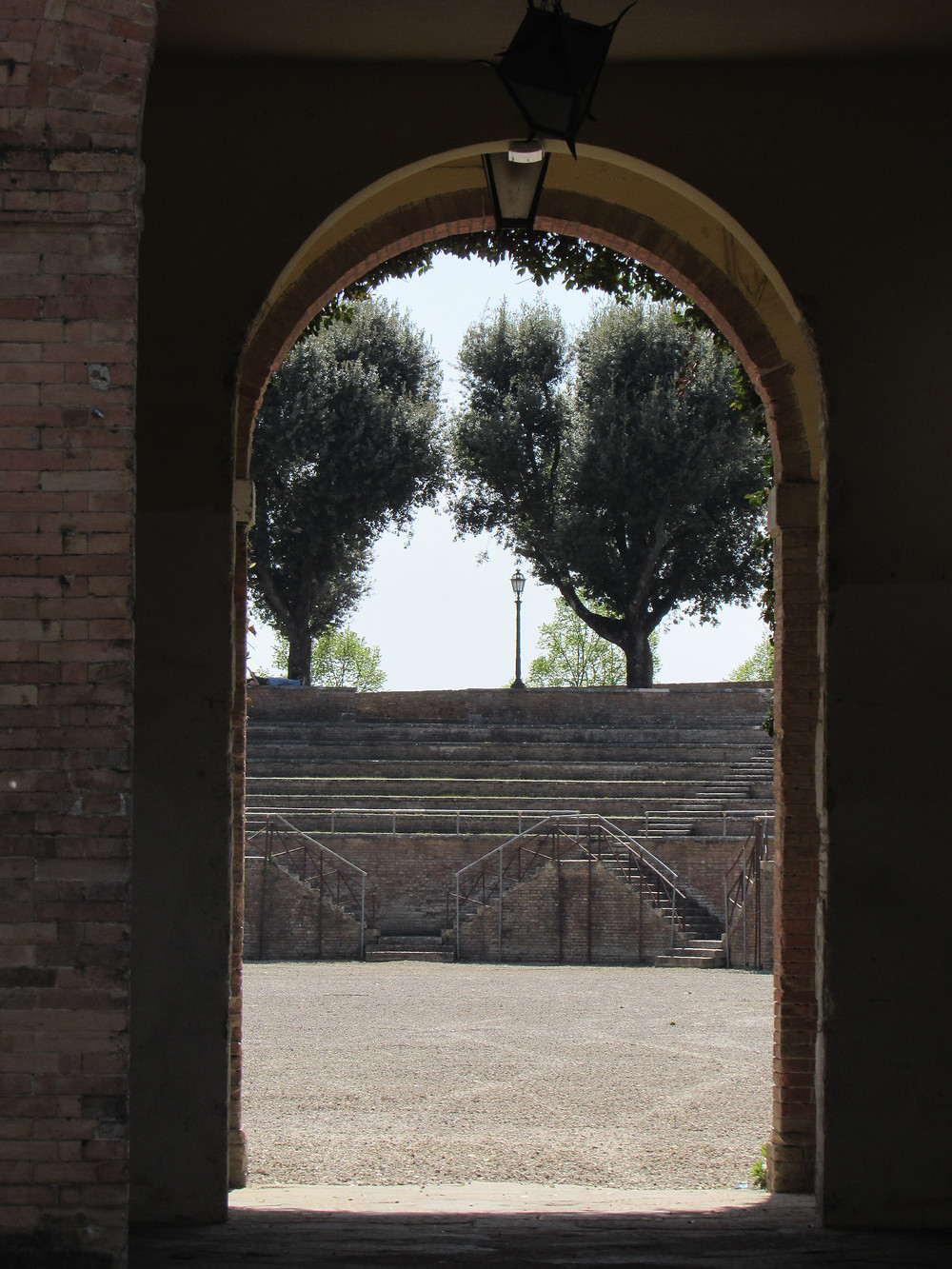 Eingang zum Forte di Santa Barbara
