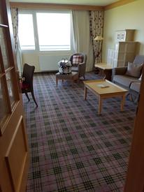 Wohnzimmer der Deluxe Suite