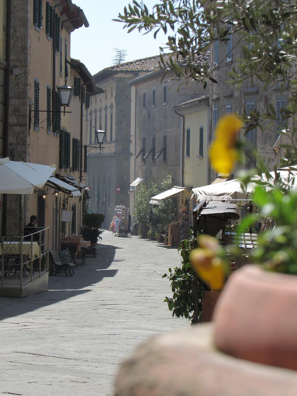 Gasse in Castellina in Chianti