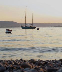 Golden hour on the island - A perfect place  to start the week__Ist das die Bucht eines Kü