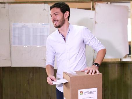 """Gainza: """"Es muy importante que todos los vecinos vayamos a las urnas a expresarnos"""""""