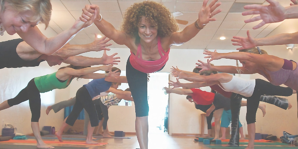 Yoga Workshop: Fearless After 50 with Desirée Rumbaugh (example)