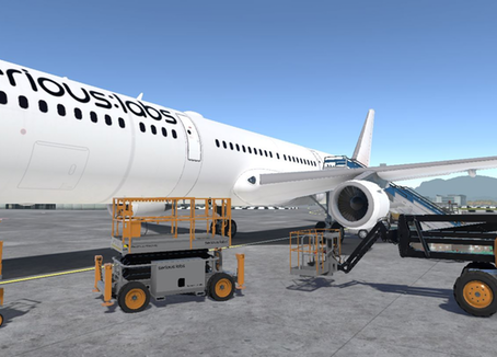 Serious Labs Introduces Virtual Reality Airline Maintenance Module for MEWP Operators