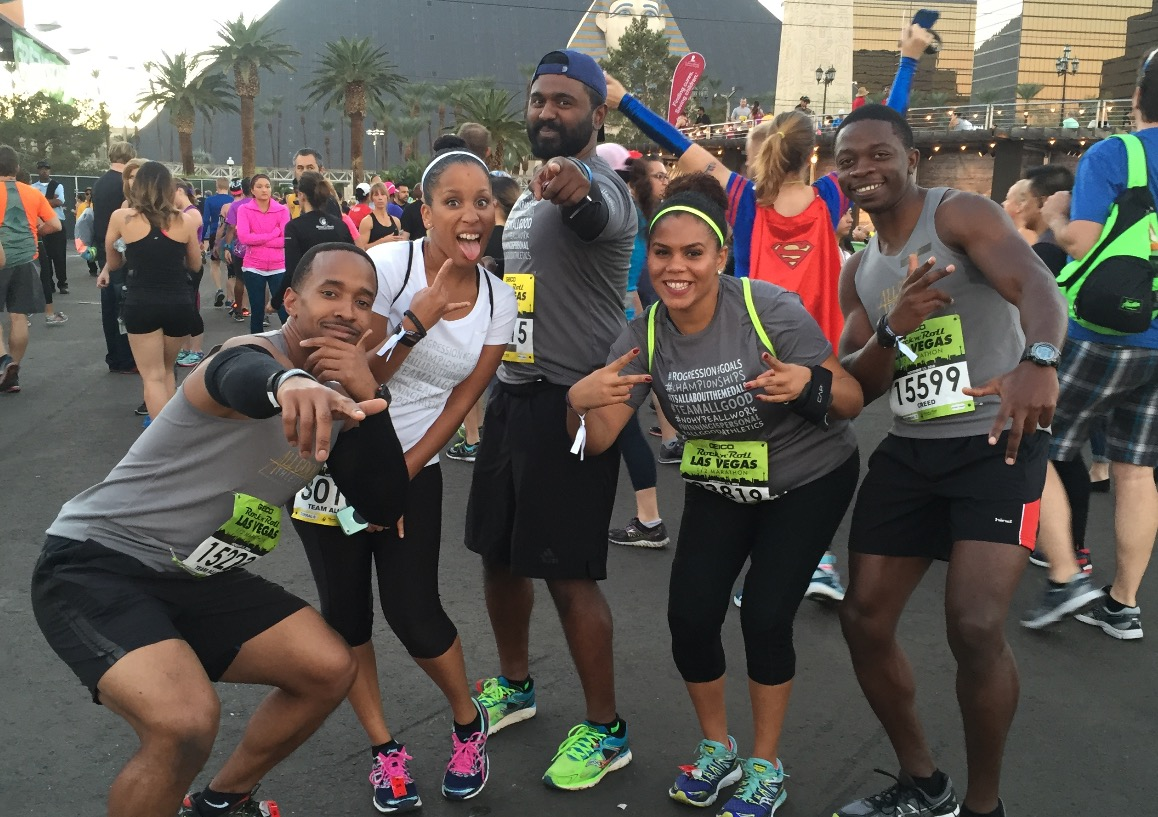 Las Vegas Rock n Roll Half Marathon