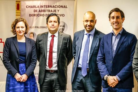 Charla Internacional de Arbitraje y Derecho Deportivo