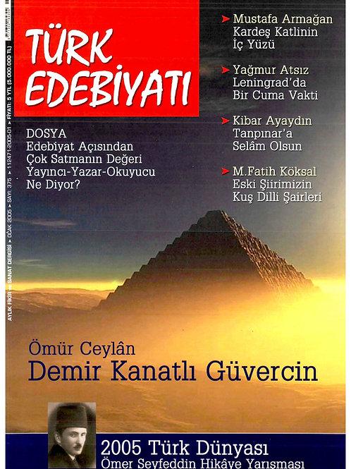 Türk Edebiyatı Dergisi 375. Sayı