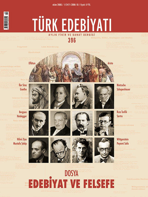 Türk Edebiyatı Dergisi 396. Sayı