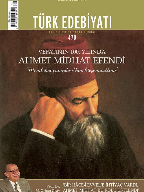 Türk Edebiyatı Dergisi 470. Sayı