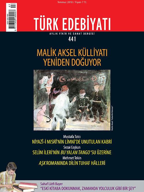 Türk Edebiyatı 441. Sayı