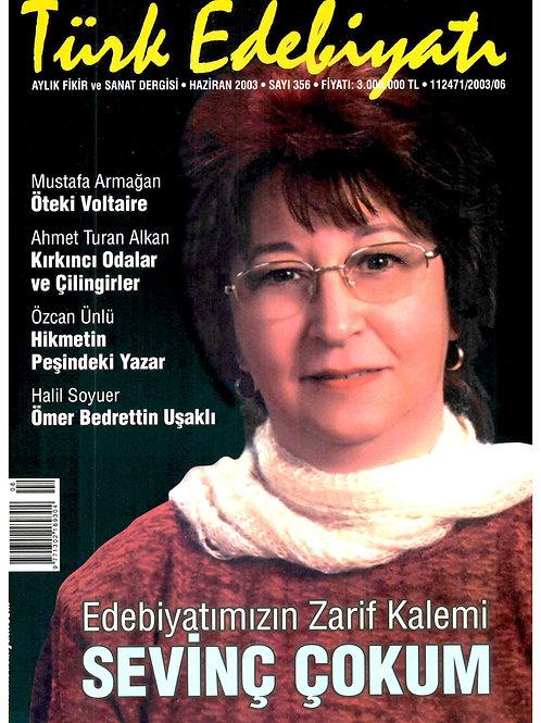 Türk Edebiyatı Dergisi 356. Sayı