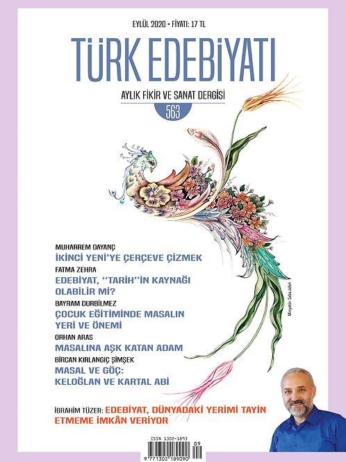 Türk Edebiyatı 563. Sayı