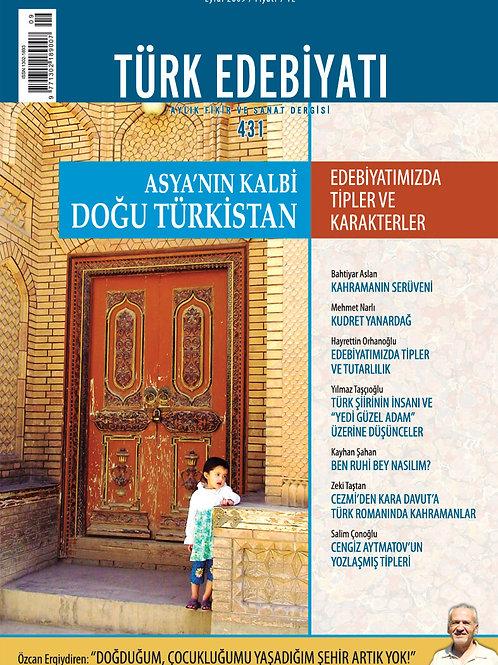 Türk Edebiyatı Dergisi 431. Sayı