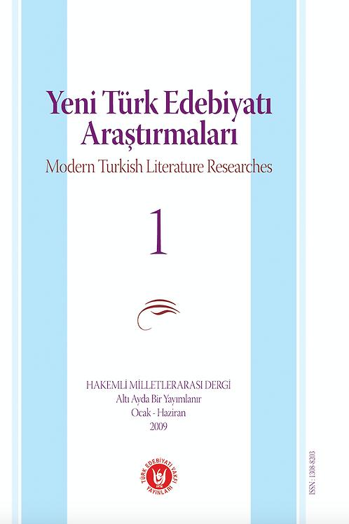 Yeni Türk Edebiyatı Arştırmaları 1