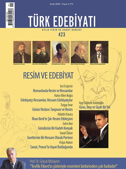 Türk Edebiyatı Dergisi 423. Sayı