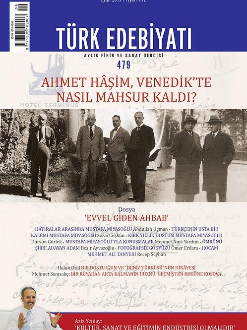 Türk Edebiyatı 479. Sayı
