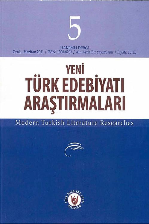 Yeni Türk Edebiyatı Araştırmaları 5