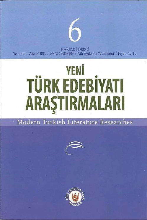Yeni Türk Edebiyatı Araştırmaları 6