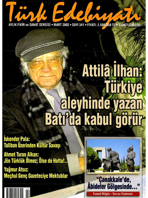 Türk Edebiyatı Dergisi 341. Sayı