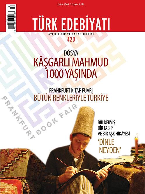 Türk Edebiyatı Dergisi 420. Sayı