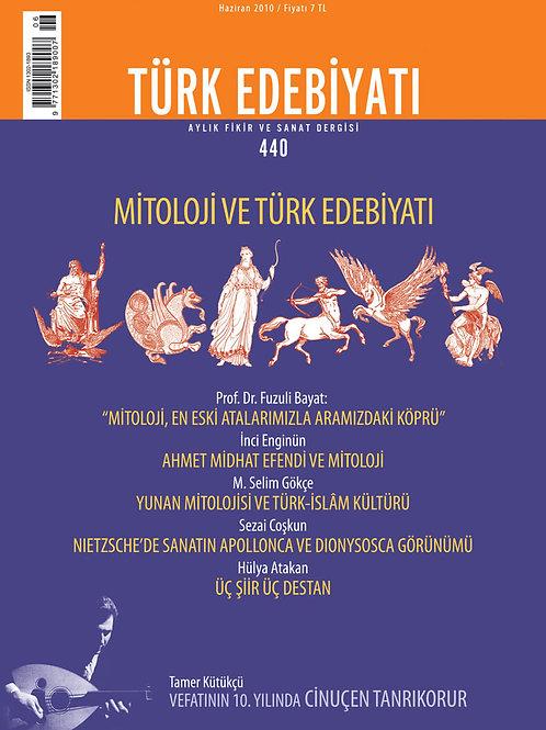 Türk Edebiyatı Dergisi 440. Sayı