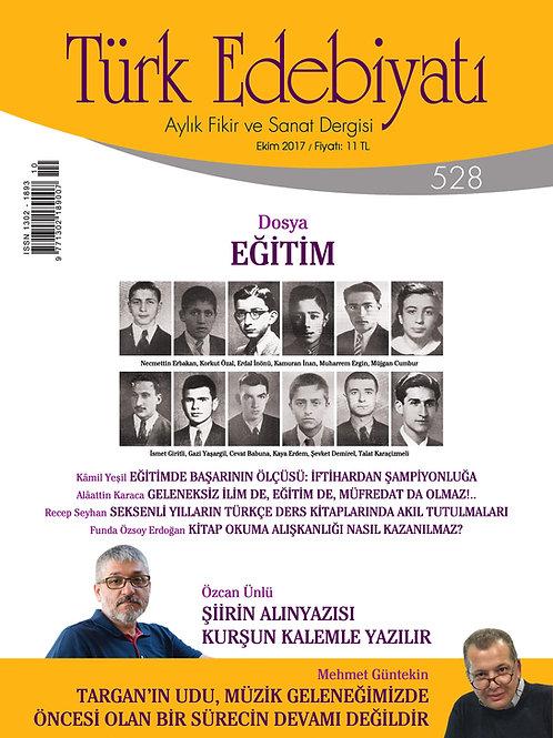 Türk Edebiyatı 528. Sayı