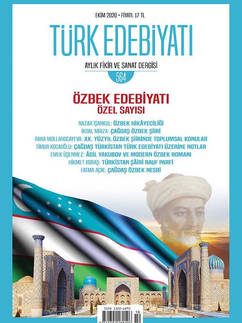 Türk Edebiyatı Dergisi 564. Sayı