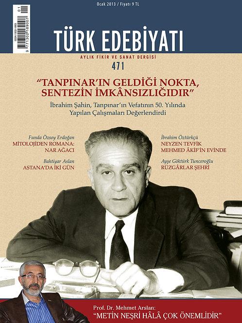 Türk Edebiyatı 471. Sayı