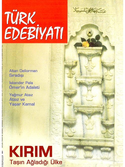 Türk Edebiyatı Dergisi 380. Sayı