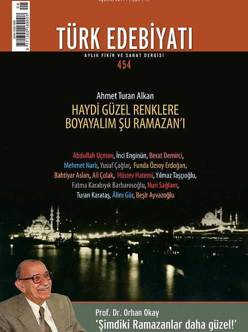 Türk Edebiyatı 454. Sayı