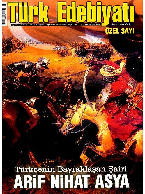 Türk Edebiyatı Dergisi 370-371. Sayı