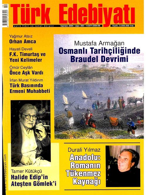 Türk Edebiyatı Dergisi 368. Sayı