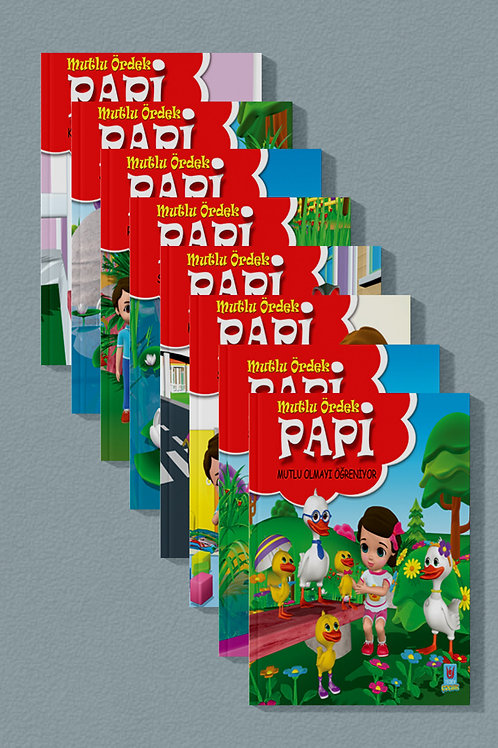 Mutlu Ördek Papi Serisi -8 Kitap-