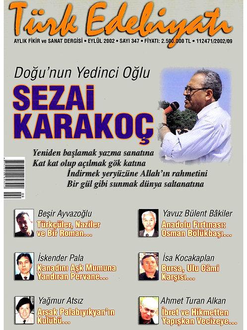 Türk Edebiyatı Dergisi 347. Sayı