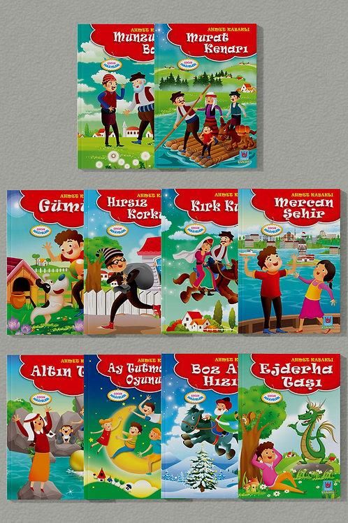Ahmet Kabaklı Çocuk Serisi - 10 Kitap -