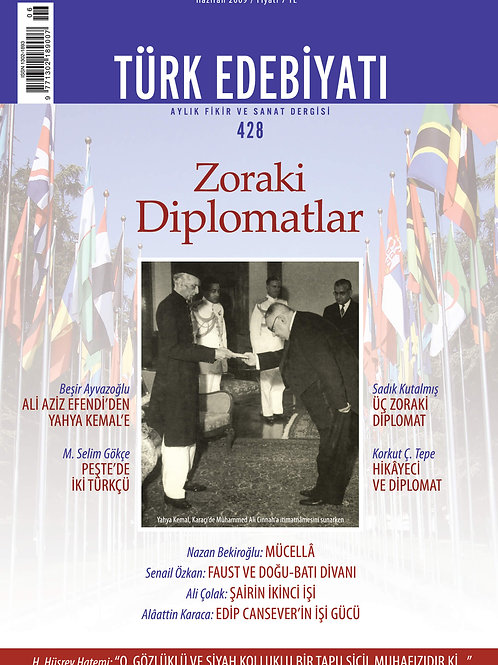 Türk Edebiyatı Dergisi 428. Sayı