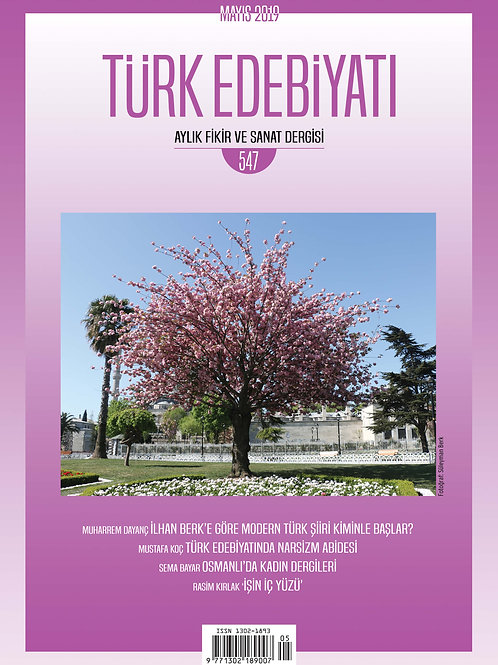 Türk Edebiyatı Dergisi 547. Sayı